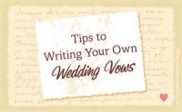 Unique Photography - Ideas for writing Wedding Vows