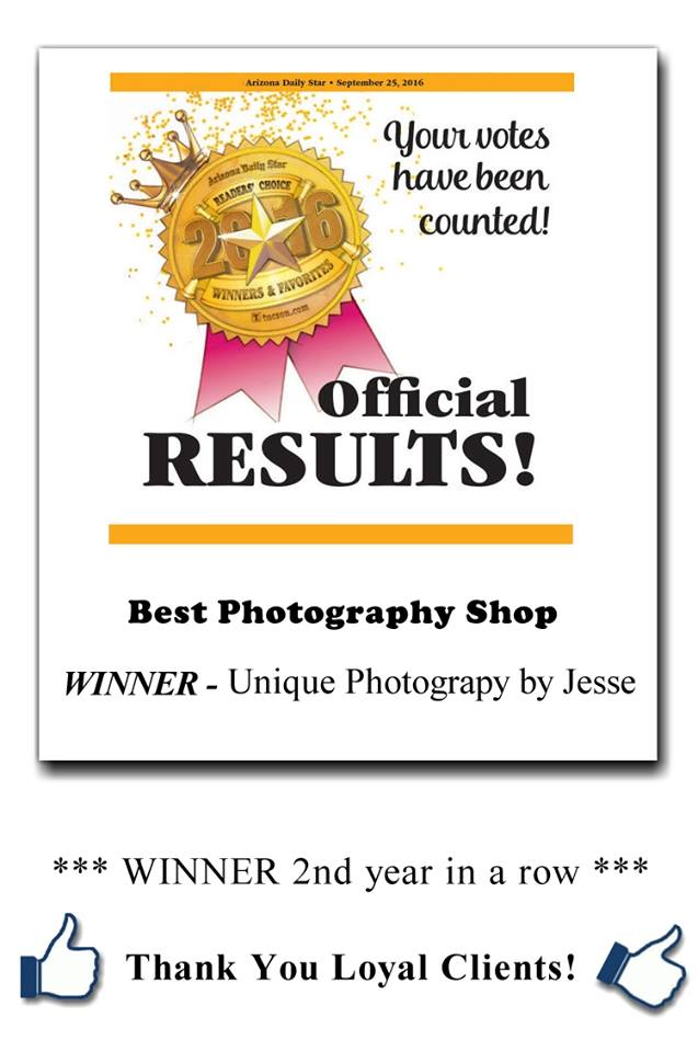 Unique Photography Award for Best Photography Shop